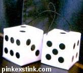 Magic odor removing dice