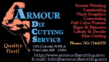 Armour Die Cutting Business card