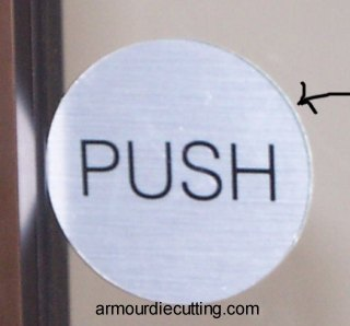 Push Pull Door Decals And Please Use Other Door Stickers